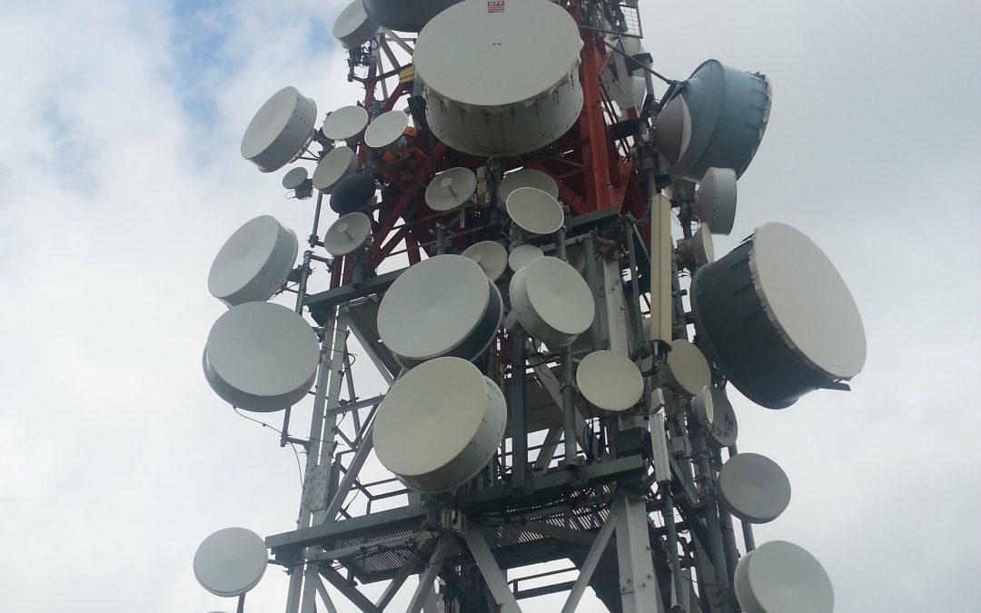 Transmisión con radio enlace y alta disponibilidad