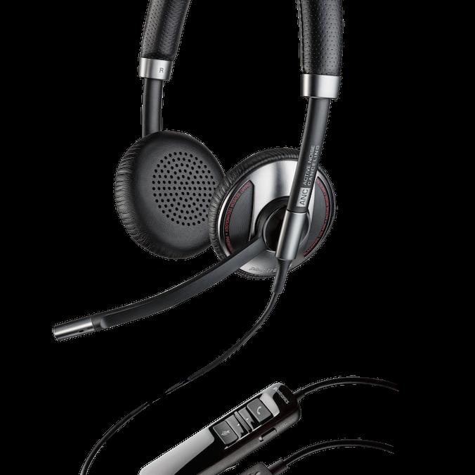 Nuevos auriculares con cancelación de ruido de Plantronics