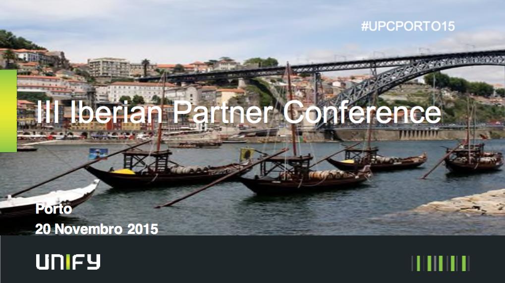 Conferencia anual de Unify en Oporto 2015